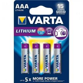 VARTA baterie litiu PROFESSIONAL AAA LR3 - blister4