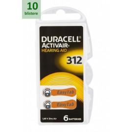DURACELL 312 ActivAir -10 blistere