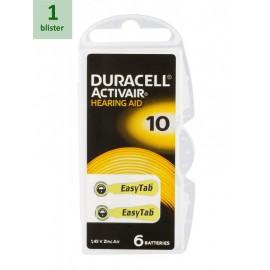 DURACELL 10 ActivAir -1 blister