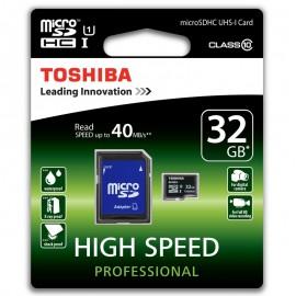 Card de memorie Toshiba MicroSDHC 32GB - UHS-I, 40MB/s