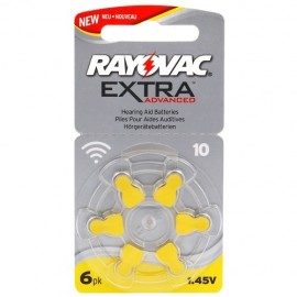 Rayovac 10 Extra Advanced - 1 blister
