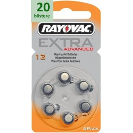Rayovac 13 Extra Advanced - 20 blistere