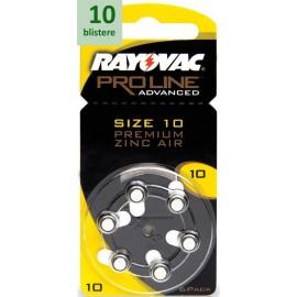 Rayovac 10 Proline Advanced Premium Zinc-Air - 10 blistere
