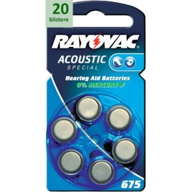 Rayovac 675 Acoustic Special - 20 blistere